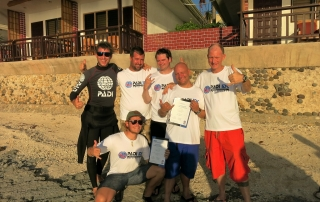 PADI IE in December 2015 was successful