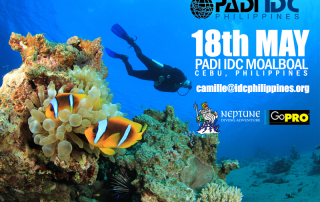 Next PADI IDC starts 18th May 2015